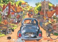Jumbo 19122 Wasgij Original 1: Sonntagsfahrer! 300 Teile Puzzle