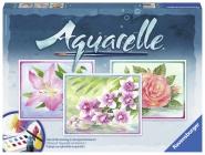 Ravensburger 29479 Aquarelle Maxi Flowers
