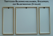 Bilderrahmen Triptychon f�r z.B. Schipper Malen nach Zahlen Bilder