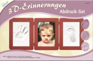 Kreativ Set 3D-Erinnerungen KSE14 Abdruck-Set Bilderrahmen gro�