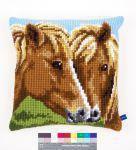 Vervaco Kreuzstichkissen PN-0150680 Pferde