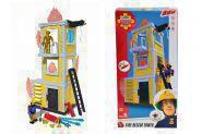 SIMBA 109251053 Feuerwehrmann Sam Sams gro�er Trainings-Turm mit Figur
