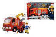 SIMBA 109251063 Feuerwehrmann Sam Sams Jupiter mit Figur