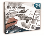 Royal & Langnickel AVS-SME215 Sketching SeaLife Box