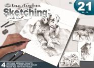 Royal & Langnickel AVS-SME216 Sketching Dogs+Horse