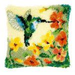 Vervaco Kn�pfkissen PN-0146770 Kolibri mit Blumen