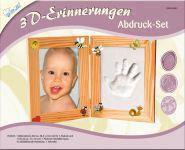 Kreativ Set KSE2 3D Erinnerungen Bilderrahmen Set klein f�r Ihr Baby