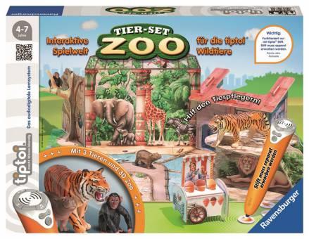 Ravensburger 00732 Tiptoi Tier-Set Zoo
