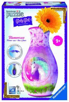 Ravensburger 12051 Girly Edition Vase Einhörner 216 Teile Puzzle