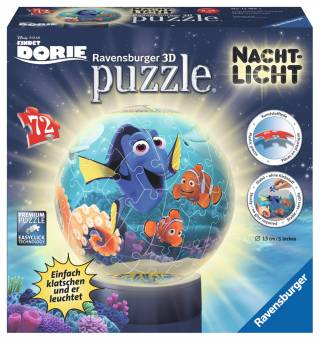 Ravensburger 12189 Finding Dory 3D Puzzleball