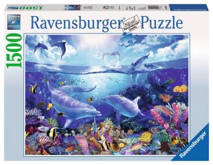 Ravensburger 16331 Tag der Delfine 1500 Teile Puzzle