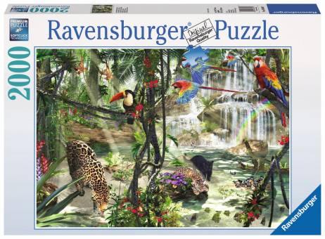 Ravensburger 16610 Dschungelimpressionen 2000 Teile Puzzle