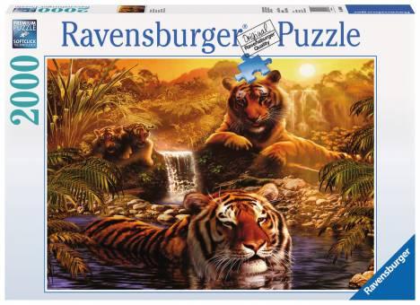 Ravensburger 16646 Am Wasserloch 2000 Teile Puzzle