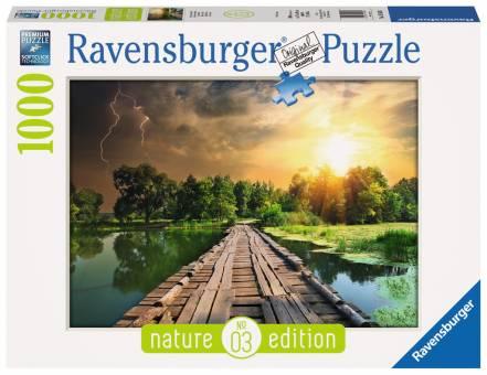 Ravensburger 19538 Mystisches Licht 1000 Teile Nature Edition Puzzle