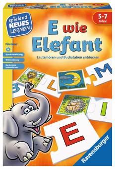 Ravensburger 24951 E wie Elefant,Lernspiel