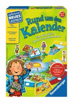 Ravensburger 25057 Rund um den Kalender,Lernspiel