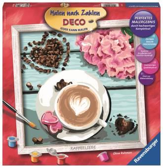 Ravensburger 29020 Malen nach Zahlen Kaffeeliebe