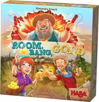 HABA 303337 Boom Bang Gold,Familienspiel