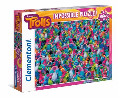 Clementoni 39369 Trolls 1000 Teile Puzzle