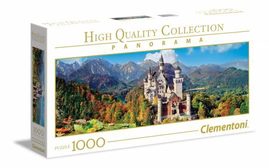Clementoni 39438 Neuschwanstein 1000 Teile Panorama Puzzle