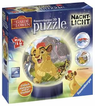 Ravensburger 11815 Nachtlicht 3D Puzzle Die Garde der Löwen