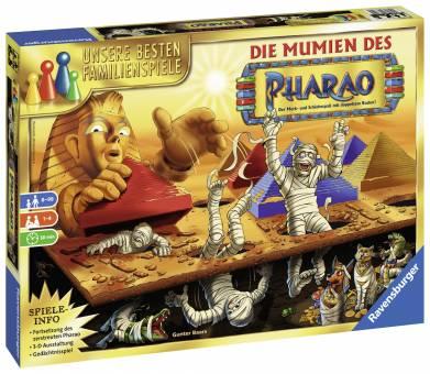 Ravensburger 26752 Die Mumien des Pharao,Familienspiel