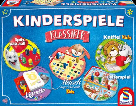 Schmidt 49189 Kinderspiele Klassiker,Spielesammlung