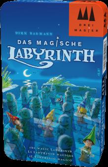 Drei Magier 51401 Das magische Labyrinth in der Metalldose,Familienspiel