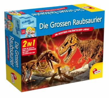 Lisciani 52714 Kleines Genie Die großen Raubsaurier 2in1,Ausgrabungsset