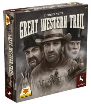 Pegasus 54590G Great Western Trail,Familienspiel