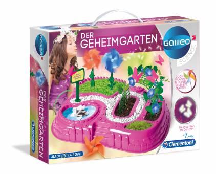 Clementoni 59063 Galileo Gartenträume,Experimentierset