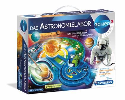 Clementoni 59064 Galileo Das Astronomielabor,Experimentierset