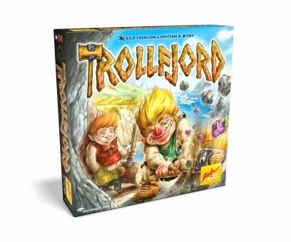 ZOCH 601105116 Trollfjord,Familienspiel
