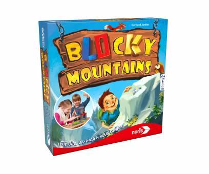 NORIS 606011679 Blocky Mountains,Geschicklichkeitsspiel
