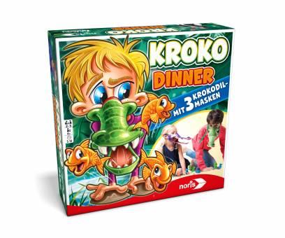 NORIS 606011756 Kroko Dinner,Kinderspiel