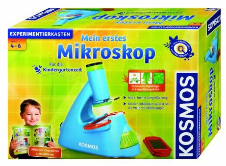 KOSMOS 634032 Mein erstes Mikroskop,Experimentierkasten