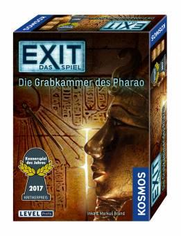 Kosmos 69269 Exit Das Spiel - Die Grabkammer des Pharaos Kennerspiel des Jahres 2017,Escape Room