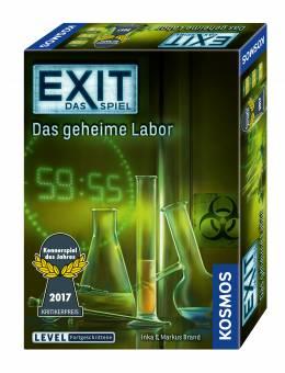 Kosmos 69274 Exit Das Spiel - Das geheime Labor,Kennerspiel des Jahres 2017