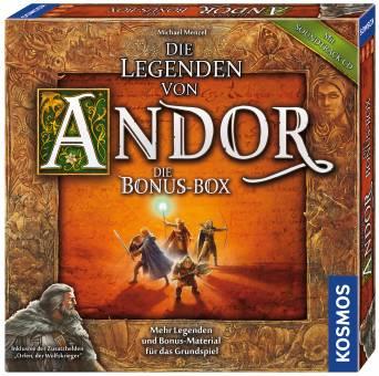 kosmos 694074 die legenden von andor die bonus box. Black Bedroom Furniture Sets. Home Design Ideas