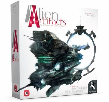 Pegasus 57503G Alien Artifacts,Familienspiel