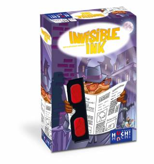 Huch 879776 Invisible Ink,Familienspiel