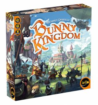 IELLO 514333 Bunny Kingdom,Familienspiel