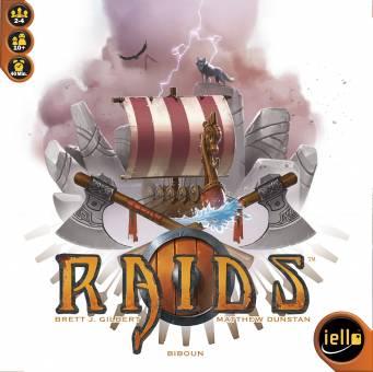 IELLO 515415 Raids,Familienspiel