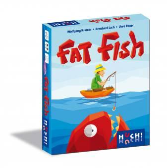 HUCH 880345 Fat Fish,Kartenspiel