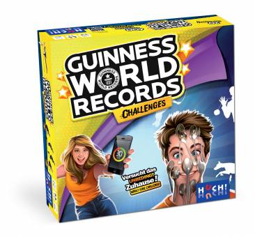 HUCH 880451 Guinness World Record Challenges,Familienspiel