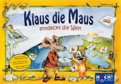 HUCH 876355 Klaus die Maus entdeckt die Welt,Lernspiel