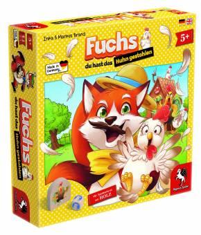 PEGASUS 66015G Fuchs du hast das Huhn gestohlen,Kinderspiel