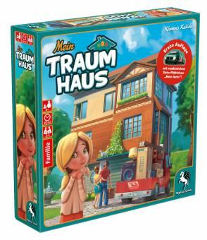 Pegasus 51220G Mein Traumhaus,Familienspiel