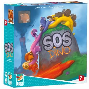 LOKI 51474 SOS Dino,Kinderspiel