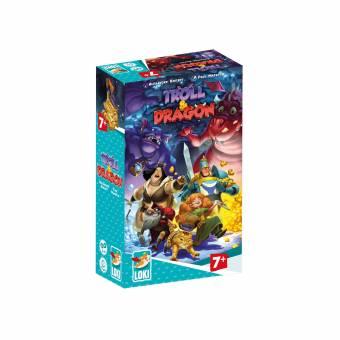 LOKI 51475 Troll & Dragon,Kinderspiel